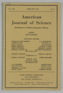 American Journal of Science - Vol 262 #2 - February 1964