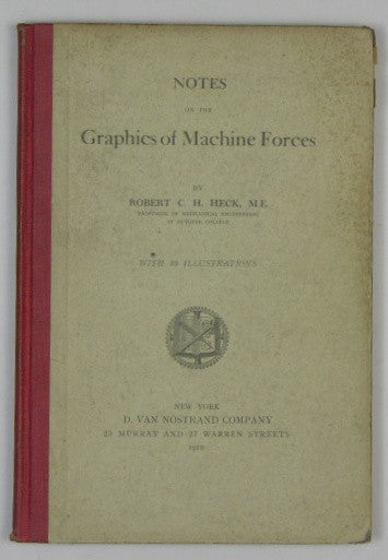 Notes on the Graphics of Machine Forces
