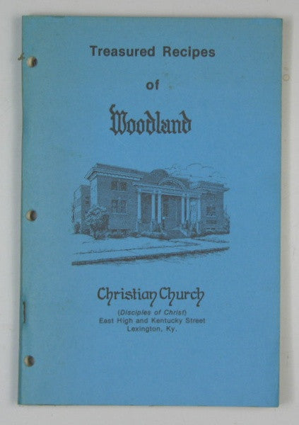 Treasured Recipes of Woodland Christian Church