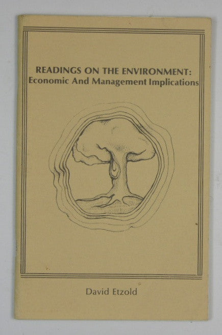 Readings on the Environment: Economic and Management Implications