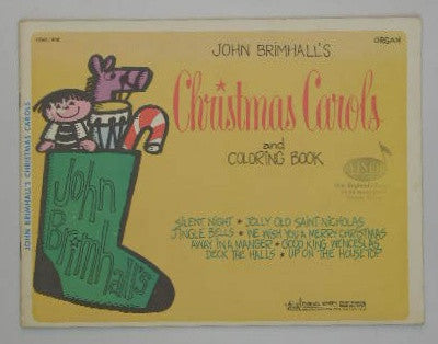 John Brimhall's Christmas Carols and Coloring Book - Organ