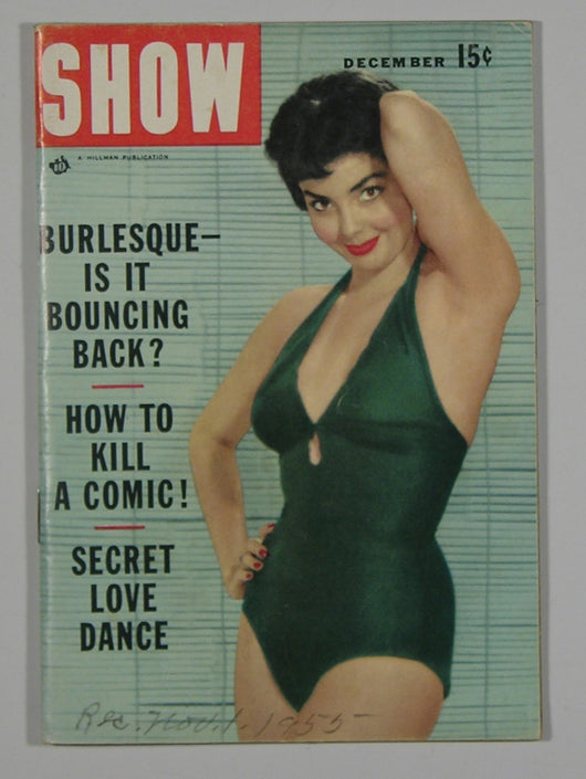 Show-The Magazine of Entertainment December 1955 Vol 4, #4