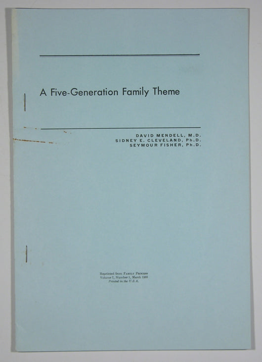 A Five-Generation Family Theme