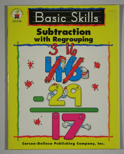 Basic Skills Subtraction with Regrouping
