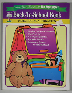 Back-To-School Book - Preschool & Kindergarten