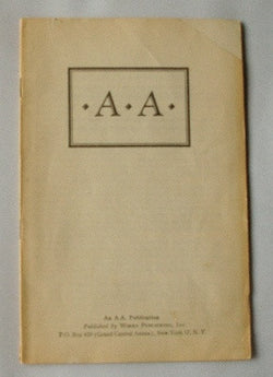 A A (Alcoholics Anonymous) Pamphlet