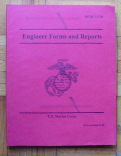 Engineer Forms and Reports - MCRP 3-17B, PCN 144 000032 00