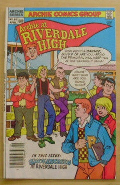 Archie at Riverdale High: No. 96 - Smokescreen at Riverdale High