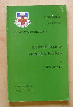 An Introduction to Dairying in Rhodesia