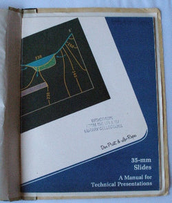 35-mm Slides: A Manual for Technical Presentations