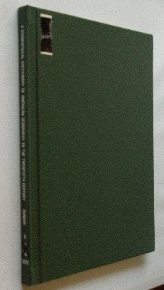 A Biographical Dictionary of American Geography in the Twentieth Century