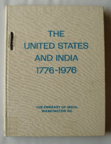 The United States and India 1776-1976