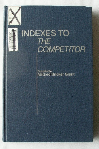 Indexes to the Competitor