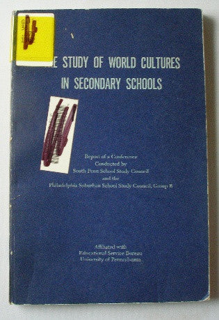 The Study of World Cultures in Secondary Schools