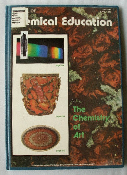 The Chemistry of Art - reprint from the The Journal of Chemistry Education Volume 57 Number 4 April 1980
