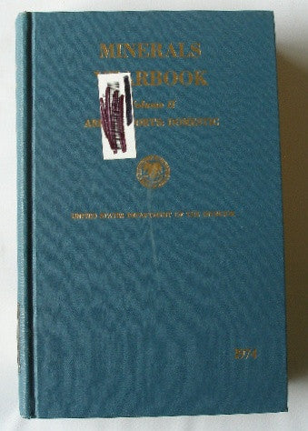 Minerals Yearbook 1974 - Volume II - Area Reports: Domestic