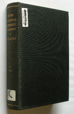 Bulletin of the John Rylands Library - Manchester - Volume 8 . 1924