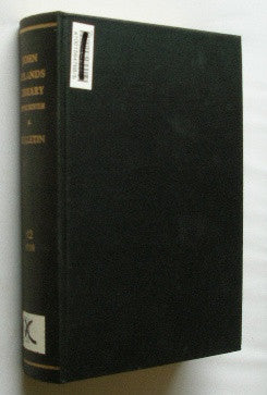Bulletin of the John Rylands Library - Manchester - Volume 12 . 1928