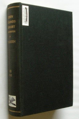 Bulletin of the John Rylands Library - Manchester - Volume 16 . 1932