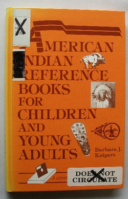 American Indian Reference Books for Children and Young Adults
