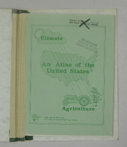 Climate Agriculture: An Atlas of the United States