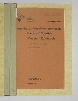A Catalogue of Fossil Vertebrates in the Royal Scottish Museum, Edinburgh - Part Three / Actinistia & Dipnoi - Geology 3 - Information Series