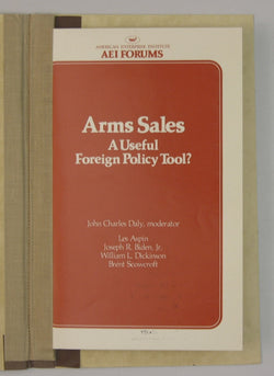 Arms Sales - A Useful Foreign Policy Tool? -