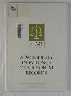 Admissibility in Evidence of Microfilm Records