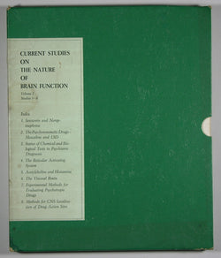 Current Studies on the Nature of Brain Function -- Volume I, Studies 1-8