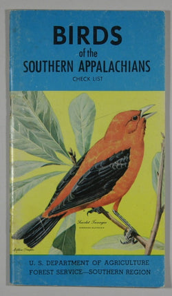 Birds of the Southern Appalachians Check List