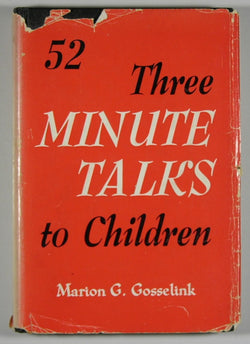 52 Three Minute Talks to Children