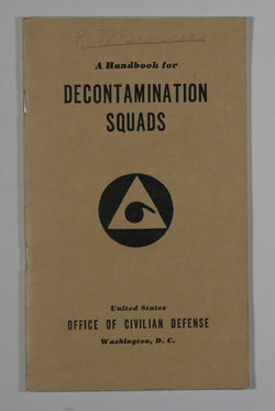 A Handbook for Decontamination Squads