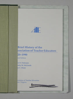 A Brief History of the Association of Teacher Educators 1920-1990