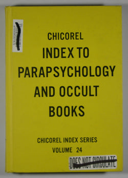 Chicorel Index to the Crafts - Ceramics, Leather and Woodworking - Chicorel Index Series - Volume 24