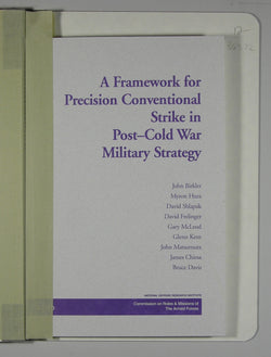 A Framework for Precision Conventional Strike in Post-Cold War Military Strategy
