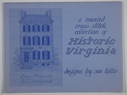 A Counted Cross Stitch Collection of Historic Virginia