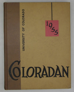 1955 Coloradan: University of Colorado Yearbook, Vol. 57
