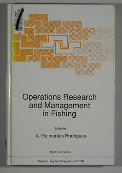 Operations Research and Management in Fishing - NATO ASI Series - Series E. Applied Sciences - Vol. 189