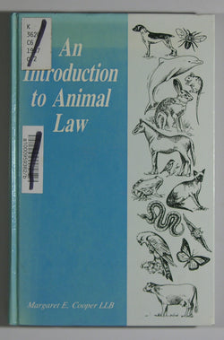 An Introduction to Animal Law