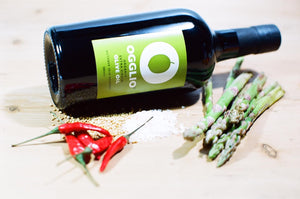 cooking with Ogglio olive oil