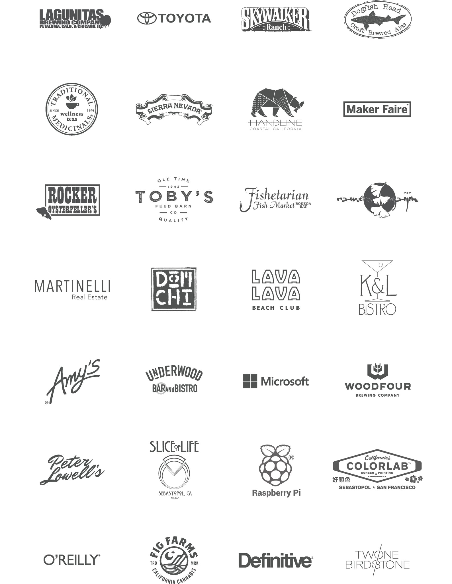 HARVESTER Co.® Selected Clients 2017