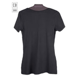 Women's Short Sleeve Scoop Neck T-shirt - Chalkboard