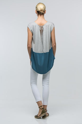Dolman Colour Block Top