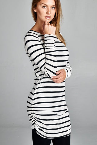 Tunic - Black and White