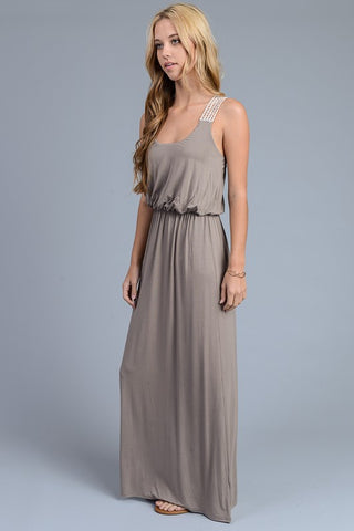 Maxi Dress - Light Chocolate