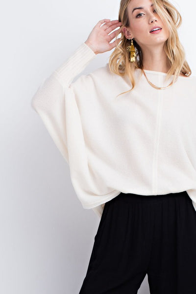 Sweater Loose Fit - Ivory