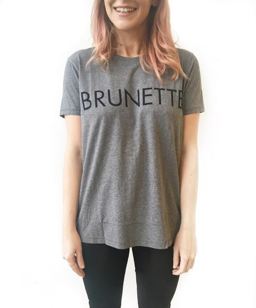"The ""Ryan"" BRUNETTE Crew Neck Tee"