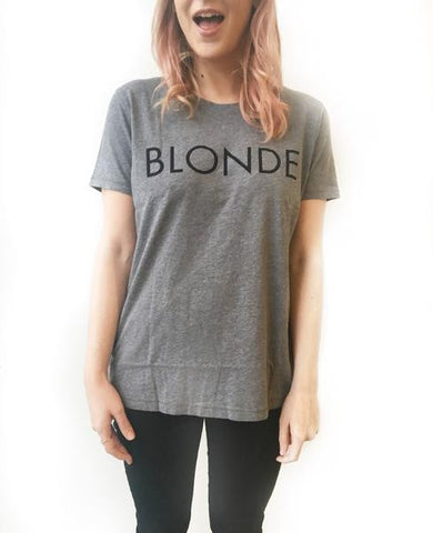 "The ""Ryan"" BLONDE Crew Neck Tee"