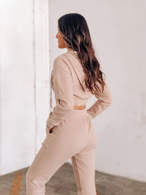 DAKOTA TWO PIECE SET-TAUPE