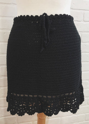 DESTINY CROCHET SKIRT
